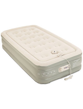 "Premier 2 Layer 16"" Twin Air Mattress With Built In Pump by General"