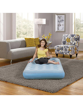 Beauty Sleep Smart Aire 9 Inch Twin Size Air Bed Mattress by General