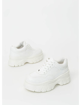 Run High Sporty Platform Sneakers by Go Jane