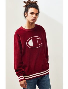 Champion Corduroy Crew Neck Sweatshirt by Pacsun