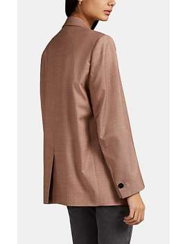 Verix Wool Oversized One Button Blazer by Isabel Marant Étoile
