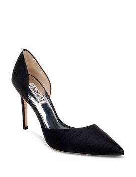 Women's Lola Silk High Heel Pumps by Badgley Mischka