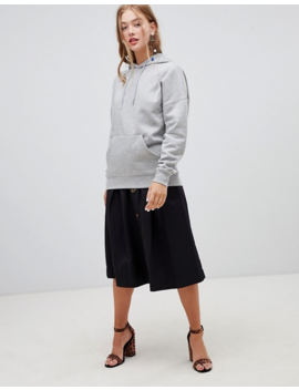 New Look Oversized Hoody In Gray by New Look