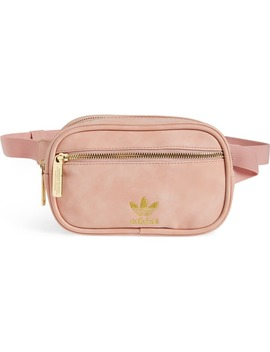 Faux Leather Belt Bag by Adidas Originals