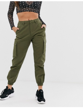 Wednesday's Girl Cargo Pants With Pockets by Wednesday's Girl