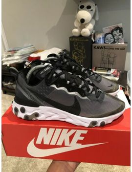 Nike React Element 87 Anthracite Sz 8 Bape Yeezy Supreme Air Max Lot by Nike
