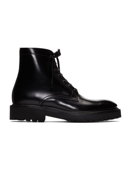 Black Farley Boots by Paul Smith