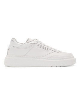 White Hackney Sneakers by Paul Smith