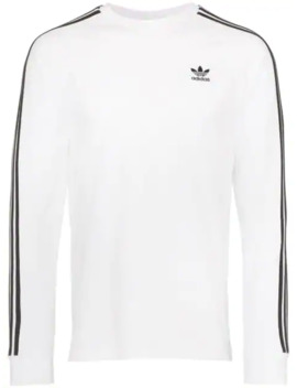Sweater Met Drie Strepen by Adidas