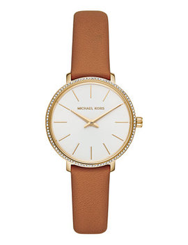 Women's Mini Pyper Luggage Leather Strap Watch 32mm by General