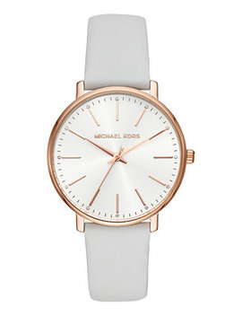 Women's Pyper White Leather Strap Watch 38mm by General