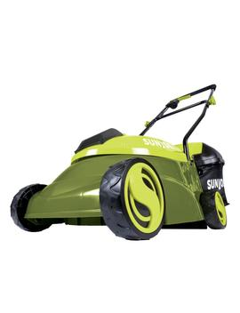 14 In. 28 Volt Battery Walk Behind Push Mower   4.0 Ah Battery/Charger Included by Sun Joe