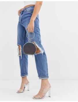 Asos Design Reflective Grab Clutch Bag by Asos Design