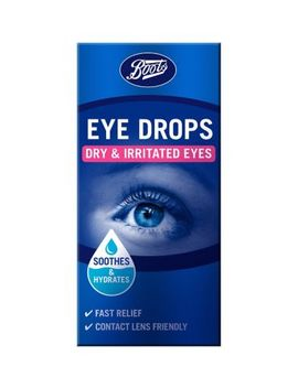 Boots Eye Drops Dry & Irritated Eyes 10ml by Boots Pharmaceuticals