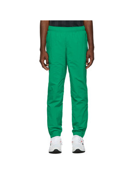Green Vector Track Pants by Reebok Classics