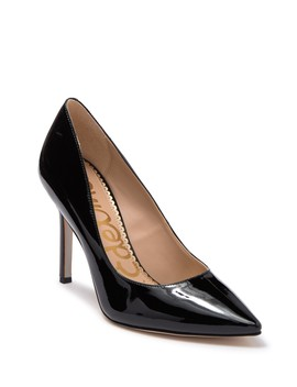 Hazel Patent Pointed Toe Pump by Sam Edelman