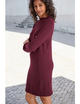 Cosy High Neck Jumper Dress by Next