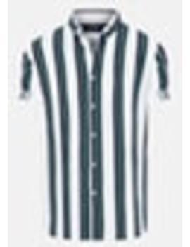 White Millard Slim Shirt by Connor