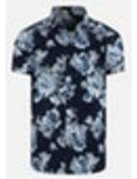 Blue Times Slim Shirt by Connor