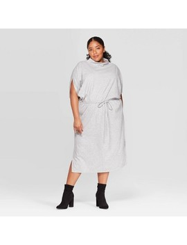 Women's Plus Size Elbow Sleeve Turtleneck Dress   Prologue™ by Prologue