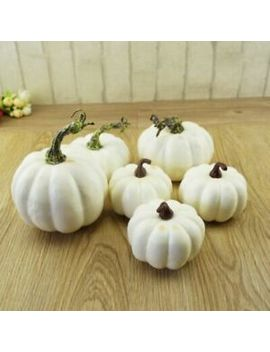 Artificial Pumpkin Foam Festival Halloween Party Garden Decor Ornament Craft Hot by Ebay Seller