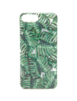Palm Leaf Print Phone Case For I Phone 7/8 Plus by Forever 21