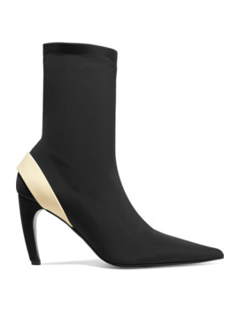 Rubber Trimmed Stretch Knit Sock Boots by Proenza Schouler
