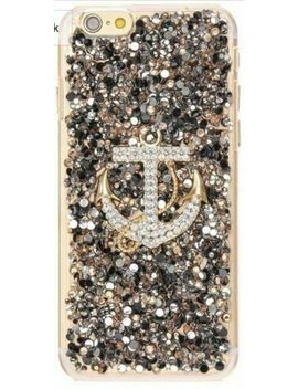 Icing Crystal Embellished Anchor Jeweled I Phone 7 Case by Icing