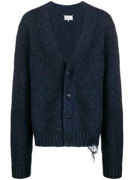 Cardigan In Distressed Optik by Maison Margiela