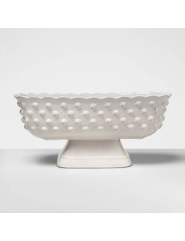 "<Span><Span>6.2"" X 5.3"" Hobnail Terracotta Footed Bowl White</Span><Br><Span>  Opalhouse</Span></Span><Span Style=""Position: Fixed; Visibility: Hidden; Top: 0px; Left: 0px;"">…</Span> by Opalhouse…"
