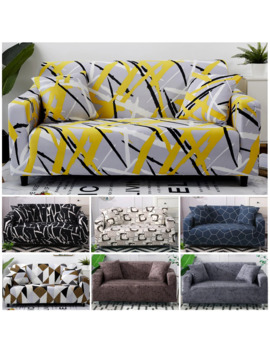 Elastic Sofa Cover Set Cotton Universal Sofa Covers For Living Room Pets Armchair Corner Couch Cover Corner Sofa Chaise Longue by Ali Express.Com