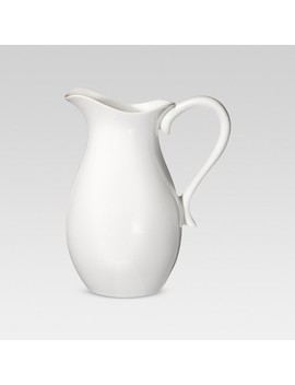 2.5 L Porcelain Pitcher White   Threshold™ by Shop Collections