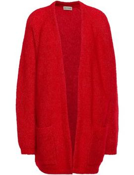 Brushed Knitted Cardigan by By Malene Birger