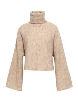 Mélange Alpaca Blend Turtleneck Sweater by Nicholas
