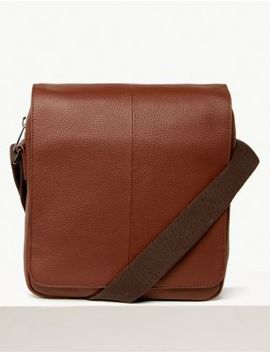 Windsor Leather Cross Body Bag by Marks & Spencer