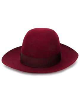 Wide Brimmed Folar Hat by Borsalino