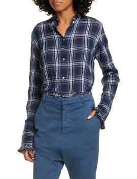 Vivian Plaid Shirt by Nili Lotan