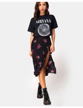 Saika Skirt In Grunge Rose By Motel by Motel