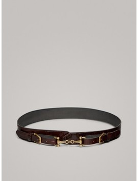 CinturÓn Reversible Piel by Massimo Dutti