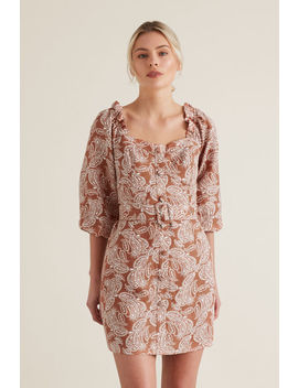 Belted Mini Dress by Seed Heritage