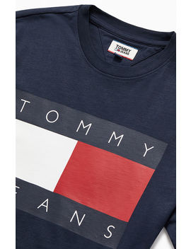 Tommy Jeans Tommy Flag T Shirt by Pacsun