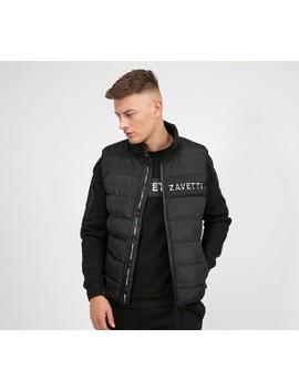 Cervati Puffer Gilet | Black by Zavetti Canada
