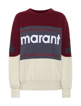 Gallian Logo Cotton Blend Sweatshirt by Isabel Marant, Étoile