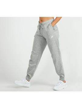 Womens Essential Regular Fleece Pant | Grey by Nike