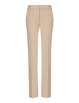 Zoran Gabardine Stretch Trousers by Joseph