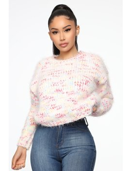 Nothing Feels Better Than This Sweater   Multi Color by Fashion Nova