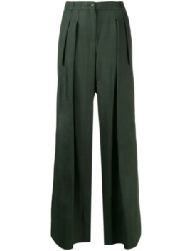 High Waisted Wide Leg Trousers by Jacquemus
