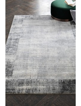 Textured Border Rug by Next