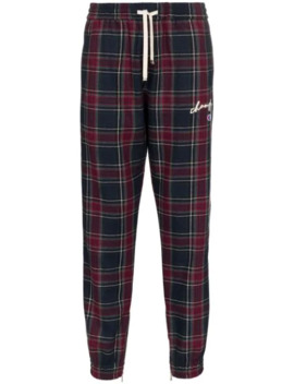 Checked Joggers by Champion