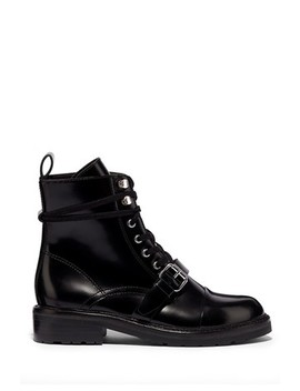 All Saints Black Donita Ankle Calf Boots by Next
